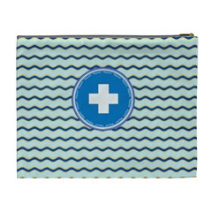 Lifeguard Xl Cosmetic Bag By Lisa Minor   Cosmetic Bag (xl)   S8r46q4ogv3j   Www Artscow Com Back