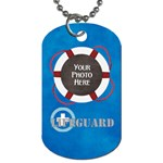 Lifeguard Dog Tag 2 sided 2 - Dog Tag (Two Sides)
