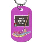 Artist 2 sided dog tag 2 - Dog Tag (Two Sides)