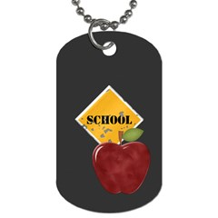 Teacher 2 Sided Dog Tag 2 By Lisa Minor   Dog Tag (two Sides)   Hpyleed1cubd   Www Artscow Com Back