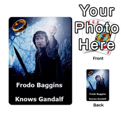 Resistance Lotr By Thebishop777   Multi Purpose Cards (rectangle)   Wf5k50gmgoun   Www Artscow Com Front 1