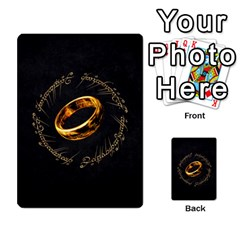 Resistance Lotr By Thebishop777   Multi Purpose Cards (rectangle)   Wf5k50gmgoun   Www Artscow Com Back 18