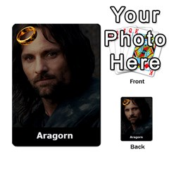 Resistance Lotr By Thebishop777   Multi Purpose Cards (rectangle)   Wf5k50gmgoun   Www Artscow Com Front 4