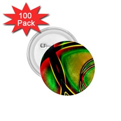 Multicolored Modern Abstract Design 1 75  Button (100 Pack) by dflcprints