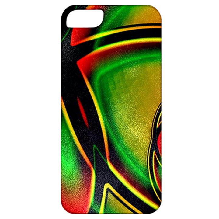Multicolored Modern Abstract Design Apple iPhone 5 Classic Hardshell Case