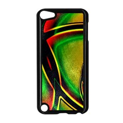 Multicolored Modern Abstract Design Apple Ipod Touch 5 Case (black) by dflcprints