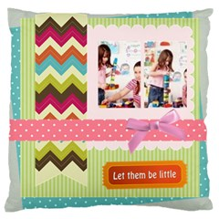 Kids By Kids   Large Cushion Case (two Sides)   Nh6snmi4mgvv   Www Artscow Com Back