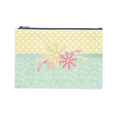 Bag By Emily   Cosmetic Bag (large)   Mdtddxhv7xh5   Www Artscow Com Front