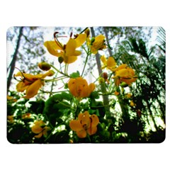 Yellow Flowers Kindle Fire Flip Case by SaraThePixelPixie