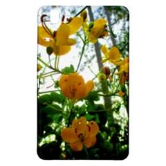 Yellow Flowers Samsung Galaxy Tab Pro 8 4 Hardshell Case by SaraThePixelPixie