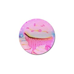 Cupcakes Covered In Sparkly Sugar Golf Ball Marker 10 Pack by StuffOrSomething