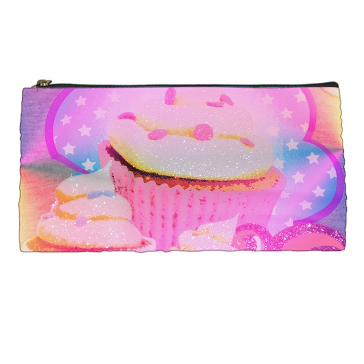 Cupcakes Covered In Sparkly Sugar Pencil Case