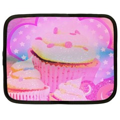 Cupcakes Covered In Sparkly Sugar Netbook Sleeve (xl) by StuffOrSomething
