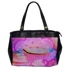 Cupcakes Covered In Sparkly Sugar Oversize Office Handbag (one Side) by StuffOrSomething