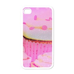 Cupcakes Covered In Sparkly Sugar Apple Iphone 4 Case (white) by StuffOrSomething