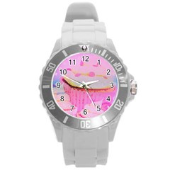 Cupcakes Covered In Sparkly Sugar Plastic Sport Watch (large) by StuffOrSomething