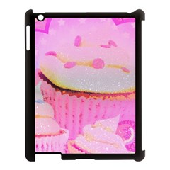 Cupcakes Covered In Sparkly Sugar Apple Ipad 3/4 Case (black) by StuffOrSomething
