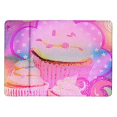 Cupcakes Covered In Sparkly Sugar Samsung Galaxy Tab 10 1  P7500 Flip Case by StuffOrSomething