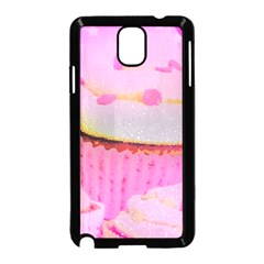Cupcakes Covered In Sparkly Sugar Samsung Galaxy Note 3 Neo Hardshell Case (black) by StuffOrSomething