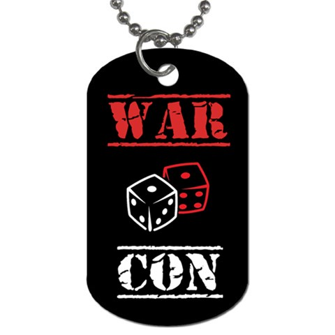 Warcon By Permonick   Dog Tag (one Side)   Aghtqdmpjaf5   Www Artscow Com Front
