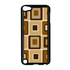 Retro Coffee Squares Apple Ipod Touch 5 Case (black) by SendCoffee