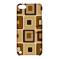 Retro Coffee Squares Apple Ipod Touch 5 Hardshell Case With Stand by SendCoffee