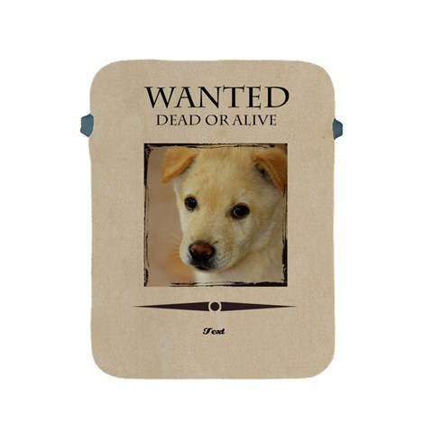 Wanted By Divad Brown   Apple Ipad 2/3/4 Protective Soft Case   Iy3fy63gwy8p   Www Artscow Com Front