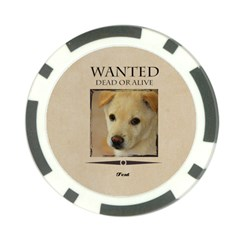 Wanted By Divad Brown   Poker Chip Card Guard (10 Pack)   Vptpbieh1ir6   Www Artscow Com Front