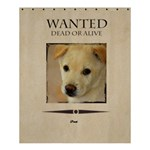 wanted - Shower Curtain 60  x 72  (Medium)