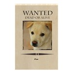 wanted - Shower Curtain 48  x 72  (Small)