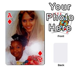 Ace Cards By Mary Mack    Playing Cards 54 Designs   Su6vpecphxf0   Www Artscow Com Front - DiamondA