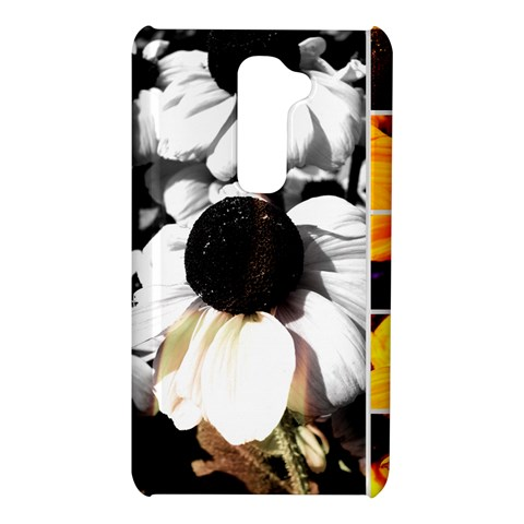 Monochrome and Yellow Black-eyed Susans LG G2 Hardshell Case