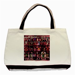 Physical Graffitied Classic Tote Bag by SaraThePixelPixie
