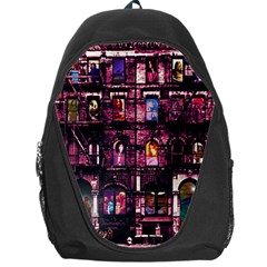 Physical Graffitied Backpack Bag by SaraThePixelPixie