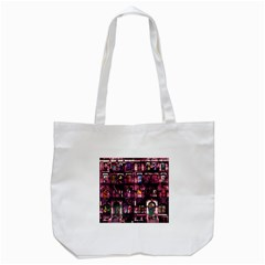Physical Graffitied Tote Bag (white)