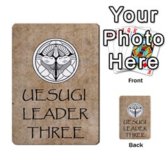 Seven Spears Takeda Uesugi Basic By T Van Der Burgt   Multi Purpose Cards (rectangle)   V0ecipjcgmoe   Www Artscow Com Back 45