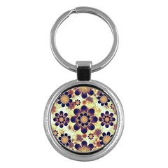 Luxury Decorative Symbols  Key Chain (round) by dflcprints