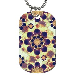 Luxury Decorative Symbols  Dog Tag (one Sided) by dflcprints