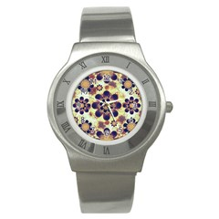Luxury Decorative Symbols  Stainless Steel Watch (slim) by dflcprints
