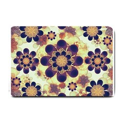 Luxury Decorative Symbols  Small Door Mat by dflcprints