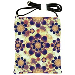Luxury Decorative Symbols  Shoulder Sling Bag by dflcprints