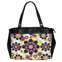 Luxury Decorative Symbols  Oversize Office Handbag (two Sides) by dflcprints