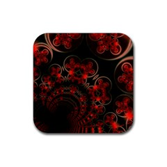 Phenomenon, Orange Gold Cosmic Explosion Drink Coasters 4 Pack (square) by DianeClancy