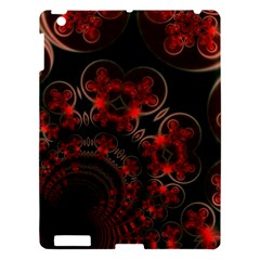 Phenomenon, Orange Gold Cosmic Explosion Apple Ipad 3/4 Hardshell Case by DianeClancy