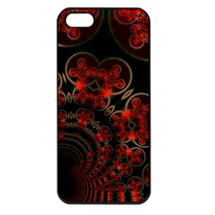 Phenomenon, Orange Gold Cosmic Explosion Apple Iphone 5 Seamless Case (black) by DianeClancy