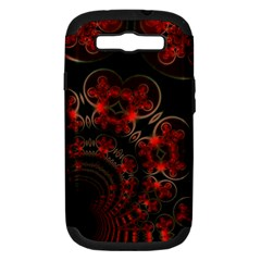 Phenomenon, Orange Gold Cosmic Explosion Samsung Galaxy S Iii Hardshell Case (pc+silicone) by DianeClancy