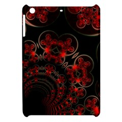 Phenomenon, Orange Gold Cosmic Explosion Apple Ipad Mini Hardshell Case by DianeClancy
