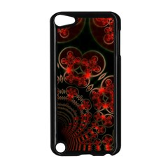 Phenomenon, Orange Gold Cosmic Explosion Apple Ipod Touch 5 Case (black) by DianeClancy