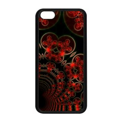 Phenomenon, Orange Gold Cosmic Explosion Apple Iphone 5c Seamless Case (black) by DianeClancy