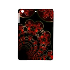 Phenomenon, Orange Gold Cosmic Explosion Apple Ipad Mini 2 Hardshell Case by DianeClancy